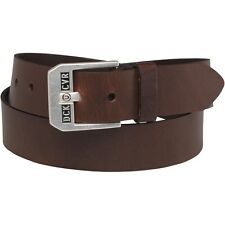 Duck & Cover DAC8B0014 Mens Classic Leather Belt Brown