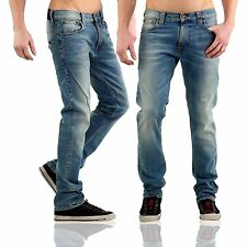 NUDIE Jeans Herren Stretch Jeans Trousers TUBE TOM Light Blue D0072 2. Wahl