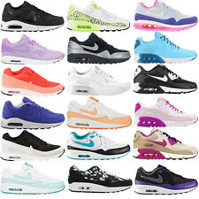 Nike Womens AIR MAX Trainers Shoes Sneakers Classic BW Command Light 90 1 NEW