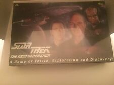 Star Trek The Next Generation Game Of Trivia Exploration & Discovery Game 1993