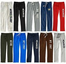 AEROPOSTALE MENS SWEAT PANTS CLASSIC SLIM STRAIGHT SKINNY NWT SWEATS AERO 87
