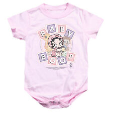 Boop/Baby Boop & Friends   Infant Snapsuit   Pink    (24 Mos)  Bb636