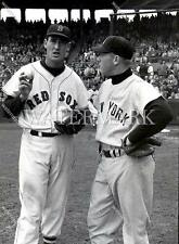 CV909 Ted Williams Red Sox & Mickey Mantle Yankees 8x10 11x14 Photo