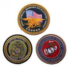 Force Recon USMC United States Marine Corps Badge Embroidered Hook Loop Patch