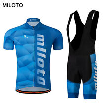 Miloto Men's Cycling Clothing Summer Bicycle Sportswear mtb Cycling Jersey Sets