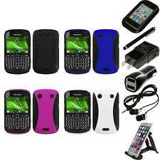 For BlackBerry Bold Touch 9900 9330 Hybrid Rugged Impact Hard Case Accessories
