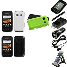 For Samsung Galaxy Prevail M820 Hybrid Rugged Impact Hard Soft Case Accessories