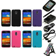 For Samsung Epic Touch 4G D710 Silicone Skin Rubber Soft Case Cover Accessories