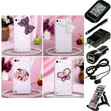 For Apple iPod Touch 5th 6th Gen Diamond Bling Rhinestone Case Cover Accessories
