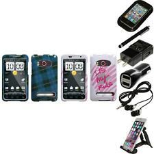 For HTC Evo 4G Design Snap-On Hard Case Phone Cover Accessories