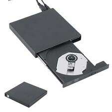 USB2.0 Slim External Optical DVD Rom CDRW Burner Writer Combo Drive PC Laptop KJ