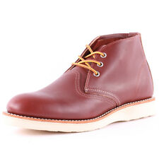 Red Wing 3139 Classic Mens Chukka Boots Dark Red New Shoes