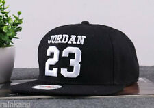 Fashion trend Men's Snapback adjustable Baseball Cap Hip Hop hat Black