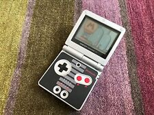 Nintendo Game Boy Advance SP Classic NES Limited Edition Black & Silver Boxed