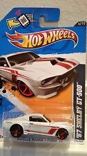 Mattel Hot Wheels 67 Shelby GT-500 Muscle Mania Ford 1:64 Diecast Car