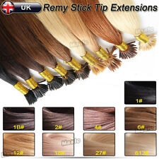 100/200/300S 0.5g Top Stick Tip I Tip Remy Human Hair Extensions Pre Bonded N482