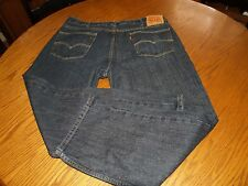 MENS~LEVIS 559~RELAXED STRAIGHT~JEANS~SZ 42x32~BLUE