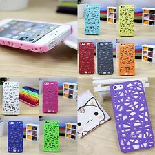 Hollow Style Bird's Nest Plastic Hard Back Case Cover For iPhone 4/4s/5/5S/5C