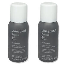 Living Proof Perfect Hair Day Dry Shampoo 1.8oz Travel Size (2 PACK)