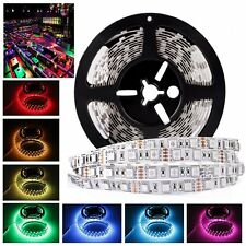 LED Strip 5050 DC12V 300leds 5m/lot Flexible LED Light RGB Fiexble Light Ribbon