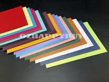 5X 250gsm A4 Pearlised Cardstock Pearlescent Shimmer Card Craft Paper 14 Colors