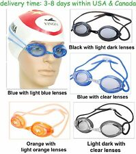 High quality swimming goggles for training and racing anti-fog anti-leaking