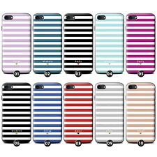 Personalised Custom Stripes/Striped Phone Case/Cover for Apple iPhone Smartphone