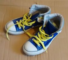 CONVERSE  ALL STAR  blue   baseball boots  size  3