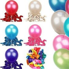 100 Pcs Helium Balloons Party Wedding Birthday Latex Balloons Decoration