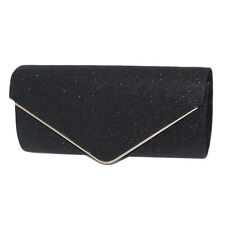 Elegant Womens Envelope Clutch Chain Purse Lady Evening Handbag Shoulder Bag