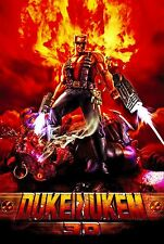 Duke Nukem 3D Game Poster |4 Sizes| PC N64 Playstation Xbox Sega Saturn Genesis