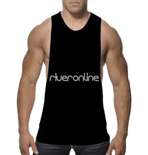 Men Muscle Bodybuilding Sleeveless Shirt Tank Top Gym Singlet Sport Vest Basic