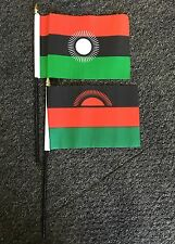 Malawi Hand or Table Flag Africa African Old New Design Lilongwe Malawian bn