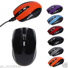 Rechargeable Wireless Mini Bluetooth 3.0 6D 1600DPI Optical Gaming Mouse Mice