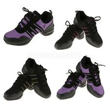 Stylish Women Athletic Sneakers Comfy Modern Jazz Hip Hop Lace Up Dance Shoes