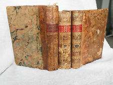 Collection of three Bell's Theatre books - 1795, 1796, and 1797