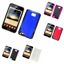 For Samsung Note i717 N7000 Case Slim Thin Hard TPU Shockproof Cover Hybrid