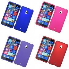 For Nokia Lumia 1320 Hard Snap-On Rubberized Phone Skin Case Cover