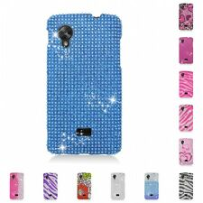 For LG Google Nexus 5 Case Diamond Bling Luxury Fashion Cute Hard Cover