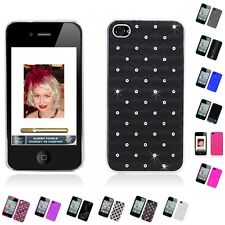 For Apple iPhone 4/4S Case Diamond Bling Luxury Fashion Cute Cover Slim Thin