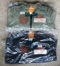 Alpha 50th Anniversary MA-1 Military Flight Jacket Rare