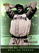 2001 Upper Deck Hall of Famers 20th Century Showcase #S6 Satchel Paige