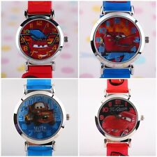 JAPAN DISNEY PIXAR THE CARS MCQUEEN 3D SILICONE BAND CHILD WATCH  CR-3K1119P