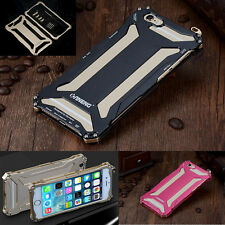 Shockproof Hard Armor Aluminium Metal Case Cover For iPhone 6 6s Plus 5 5s 4s 4