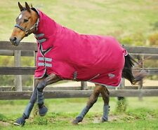 Saxon 600D Combo Neck Heavy WATERPROOF Turnout Rug ALL SIZES & COLOURS