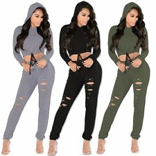 New Women Ladies Clubwear Hollow Playsuit Bodycon Party Jumpsuit Romper Trousers