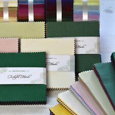 "Charm Pack 100% Cotton Squares 42 Pack Quilting Patchwork Crafts, Sewing 5"" x 5"""