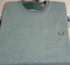 New Mens Fred Perry round collar Neck Jumper