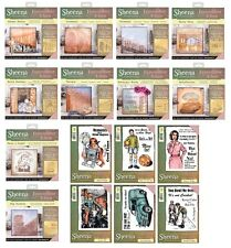 Sheena Douglass Remember When Range Rubber Stamps & Stencils Crafters Companion