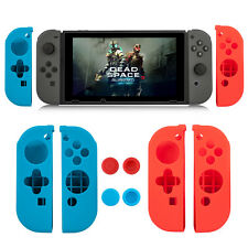 2Pairs Anti-slip Silicone Cover Thumb Cap for Nintendo Switch Joy-Con Controller